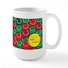 Tennis Holiday Mug