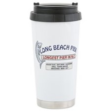Vintage Long Beach Pier Travel Mug