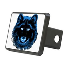 Blue Wolf Hitch Cover