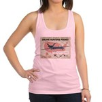 Drone Hunting Permit Racerback Tank Top
