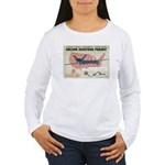 Drone Hunting Permit Women's Long Sleeve T-Shirt