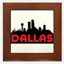Dallas Slyline Framed Tile