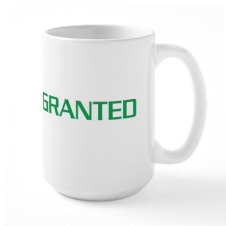 Granted/Denied Large Mug