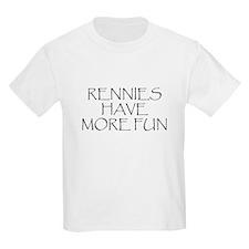 Rennies Have More Fun Kids T-Shirt