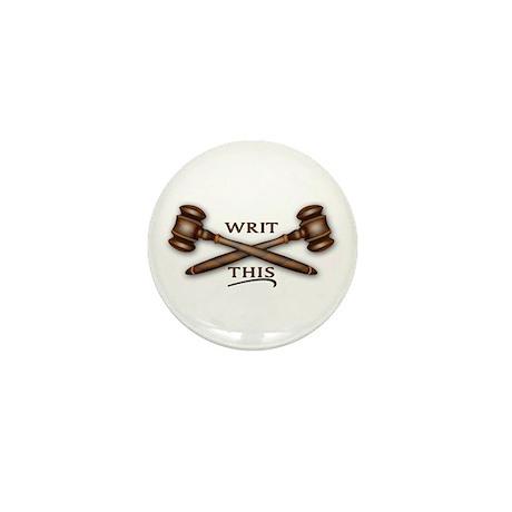 PB Court Mini Button