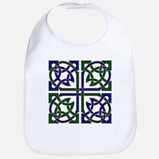 Celtic Knot Squared Bib