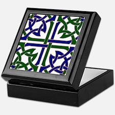Celtic Knot Squared Keepsake Box