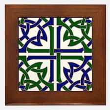 Celtic Knot Squared Framed Tile