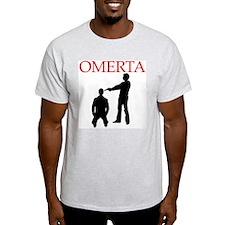 Omerta Ash Grey T-Shirt