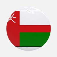 Oman - National Flag - 1970-1995 Round Ornament