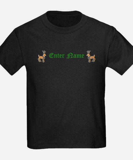 Personalized Reindeer T