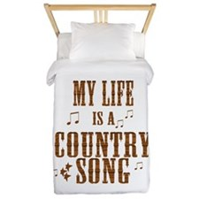 My Life is a Country Song Twin Duvet