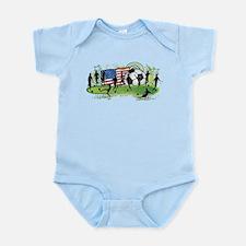 USA Women Soccer Infant Bodysuit