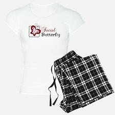 Social Butterfly pajamas