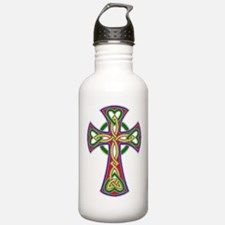 Primary Celtic Cross Water Bottle