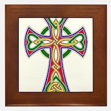 Primary Celtic Cross Framed Tile