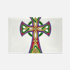 Primary Celtic Cross Rectangle Magnet
