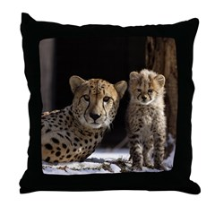 Mom & Baby Throw Pillow