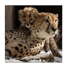 Mom & Baby Tile Coaster