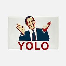 Obama YOLO Rectangle Magnet
