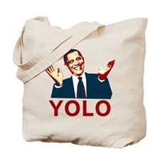 Obama YOLO Tote Bag
