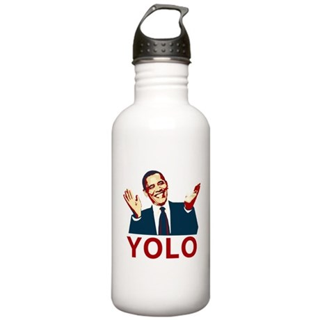 Obama YOLO Stainless Water Bottle 1.0L