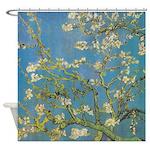 Best Almond Branches by Van Gogh Shower Curtain