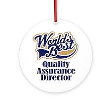 Quality Assurance Director (Worlds Best) Ornament