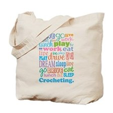 Crocheting Gift Tote Bag