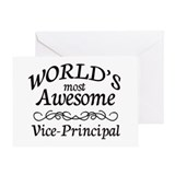 Vice principal Greeting Cards