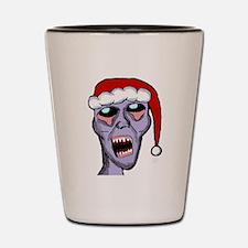 Santa Zombie Shot Glass