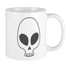 Alien skull Mug
