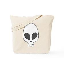 Alien skull Tote Bag