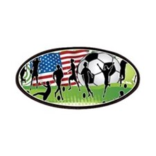 USA Women Soccer Patches