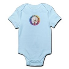 Bichon Frise Claddagh #1 Infant Bodysuit