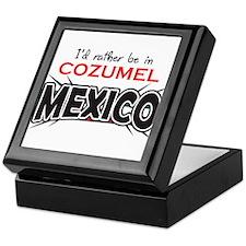 Cozumel Mexico Keepsake Box