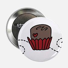 """Valentine Chocolates 2.25"""" Button"""