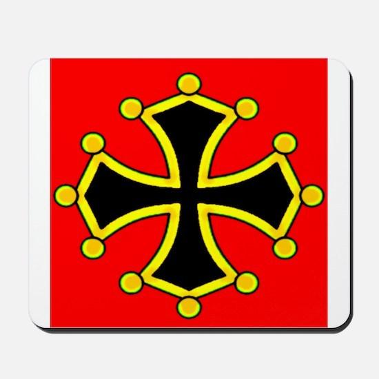Cathar Cross Mousepad