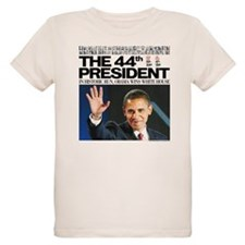 44th President/Yes We Did Again T-Shirt