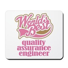 Quality Assurance Engineer (Worlds Best) Mousepad