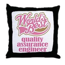 Quality Assurance Engineer (Worlds Best) Throw Pil