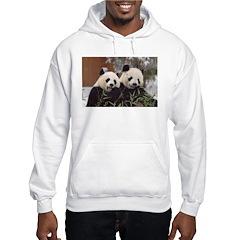 Pandas Eating Hoodie