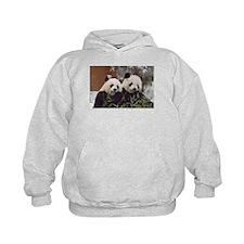 Pandas Eating Kids Hoodie