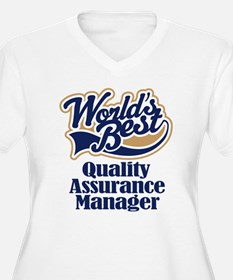 Quality Assurance Manager (Worlds Best) T-Shirt