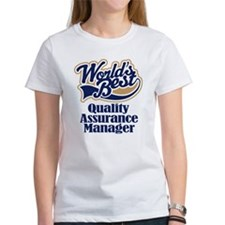 Quality Assurance Manager (Worlds Best) Tee
