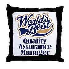 Quality Assurance Manager (Worlds Best) Throw Pill