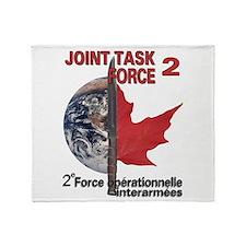 2e oprationnelle interarmes Throw Blanket