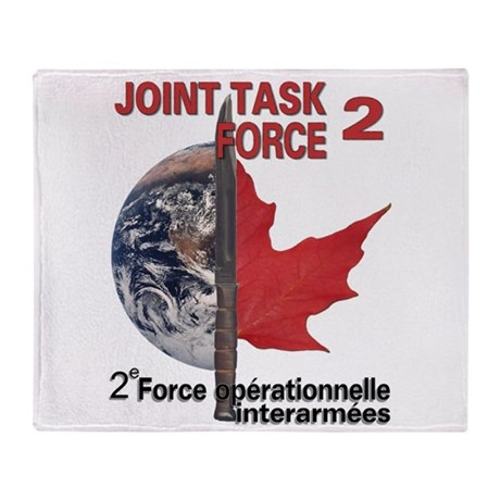 2e oprationnelle interarmes Throw Blanket