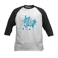 10th Birthday Ten 10 Stars  Tee
