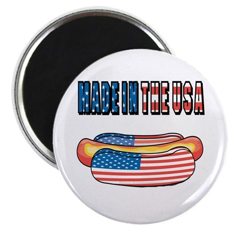 """Made in the USA 2.25"""" Magnet (100 pack)"""